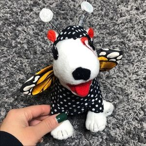 Target Dog Butterfly Plush Collectible